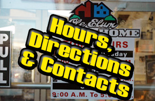 Store Hours, Directions, Map and Contact info